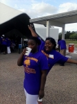 levette marshall & teri smith at 2014 reunion fish fry